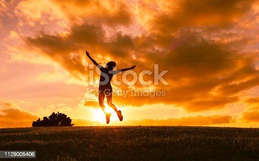 istock Feeling free 1129005406