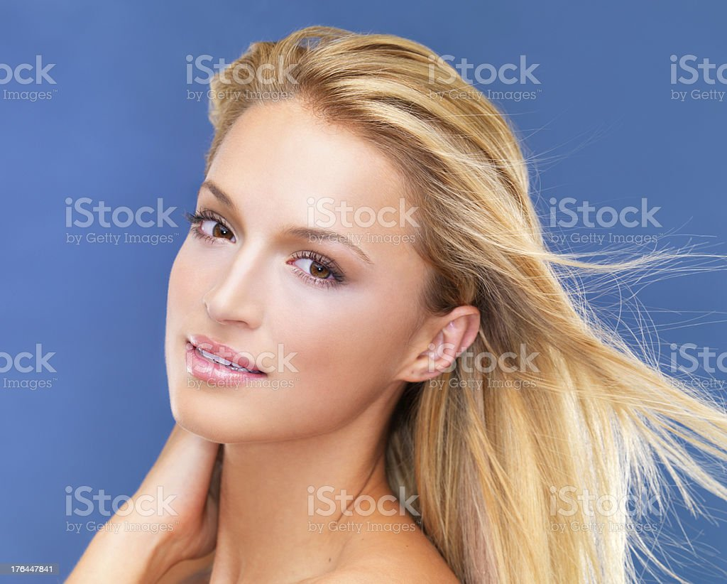 Feeling fresh and confident royalty-free stock photo