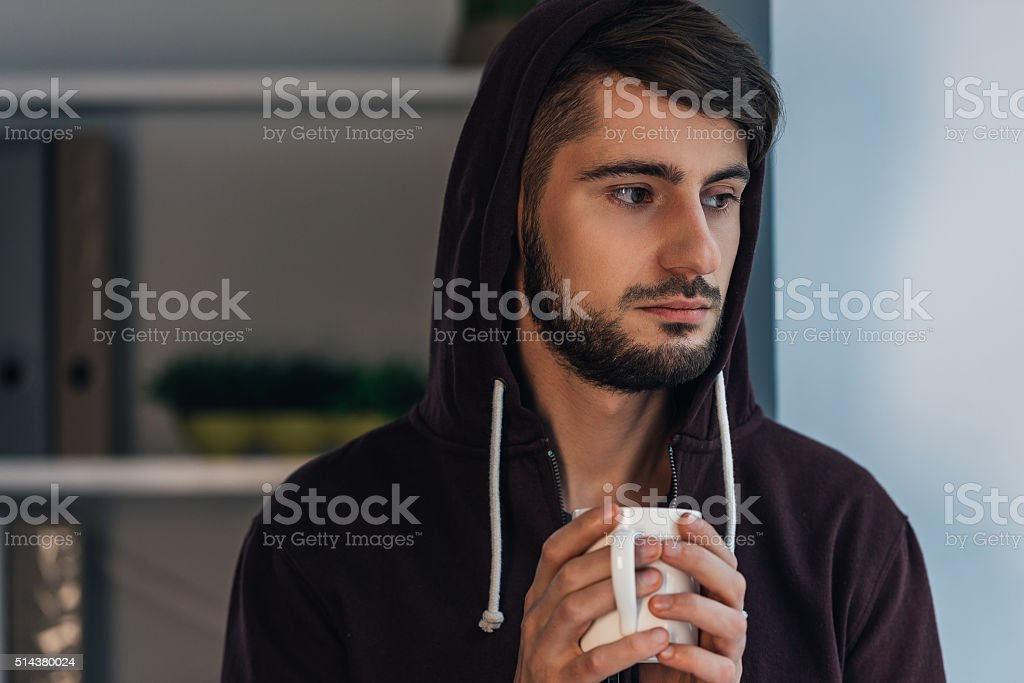 Feeling frustrated. stock photo