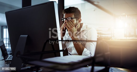 istock Feeling frustrated 913327650