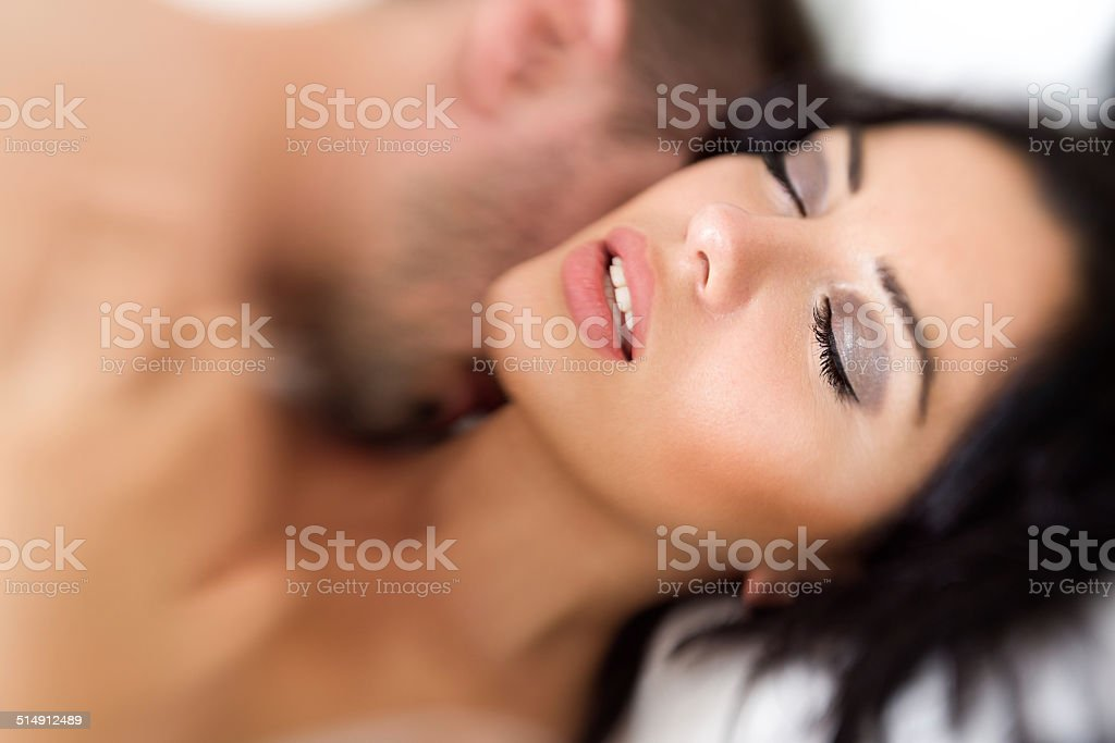 feeling good during sex stock photo