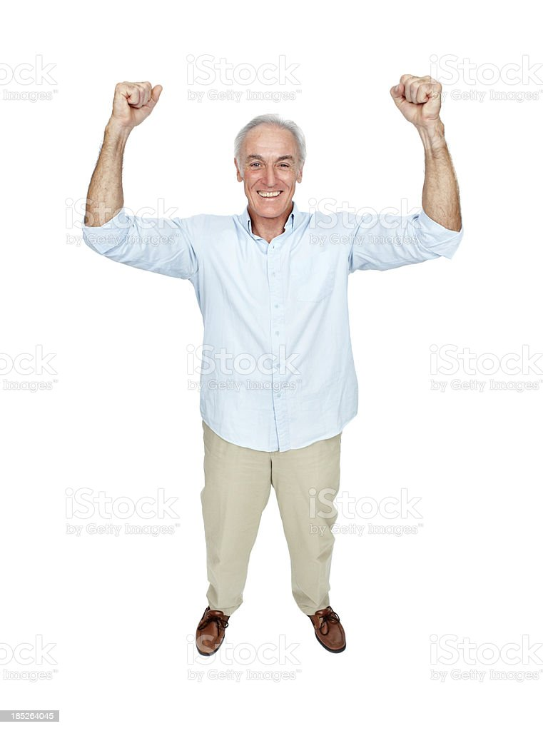 Feeling good! royalty-free stock photo