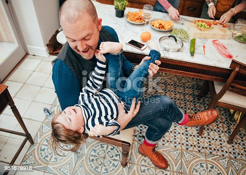 649431568 istock photo Feeling Happy In Dad's Arms 951679916