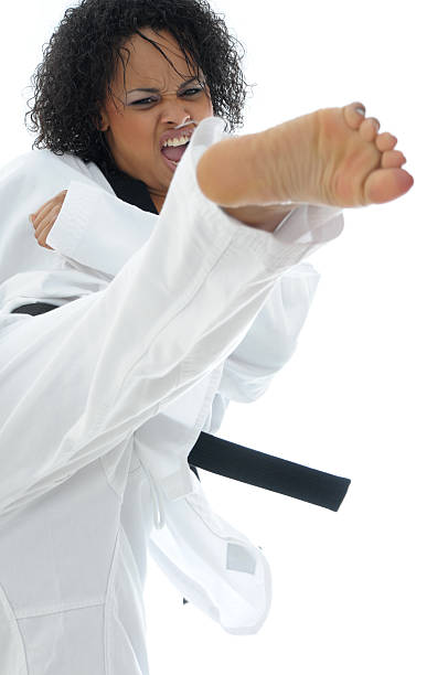 feeling it - martial arts gerville stock pictures, royalty-free photos & images