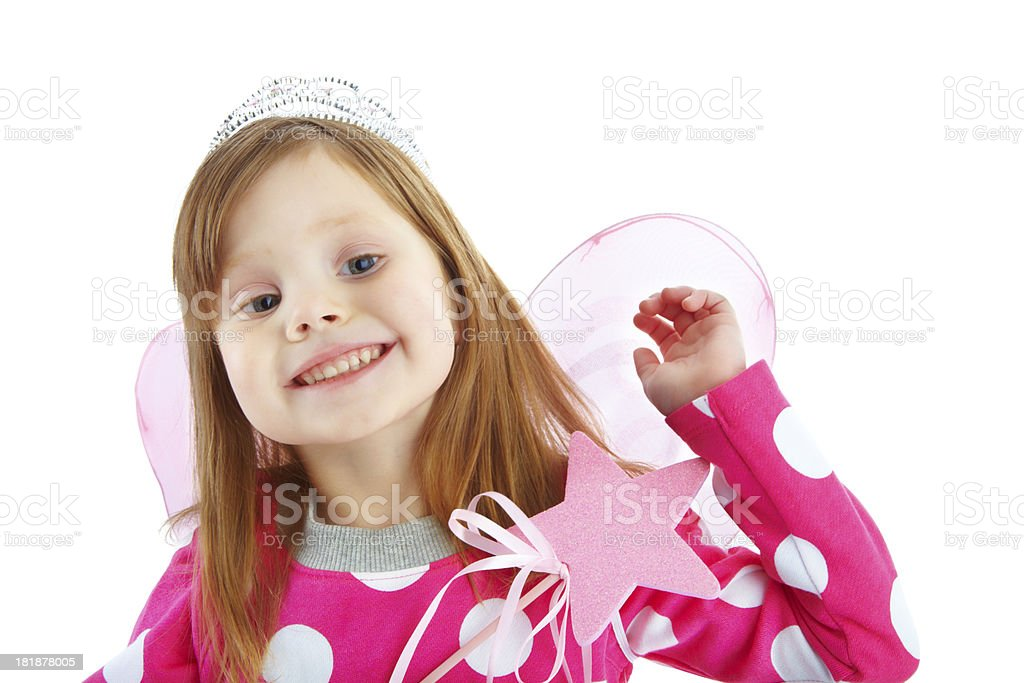 Feeling magical thanks to make-believe royalty-free stock photo