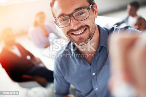 istock Feeling positive about being productive 503418394