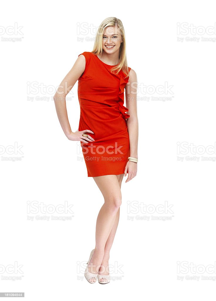Feeling sexy and confident royalty-free stock photo
