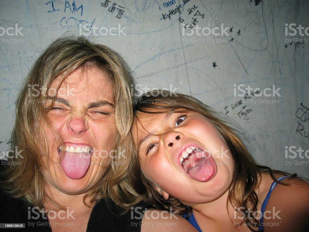 feeling silly royalty-free stock photo