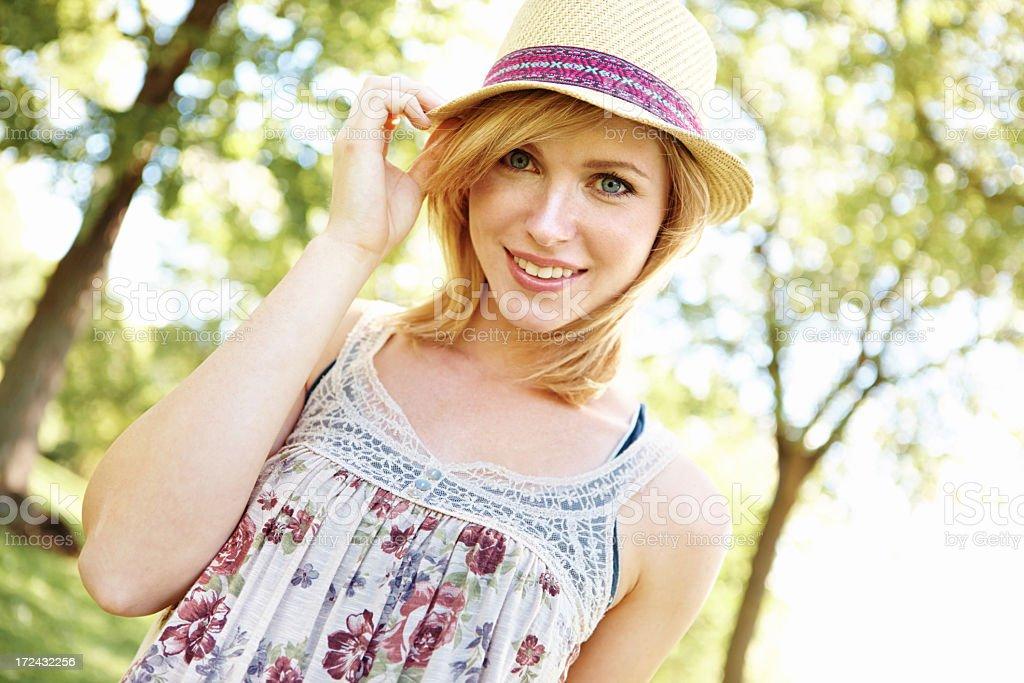Feeling summery royalty-free stock photo