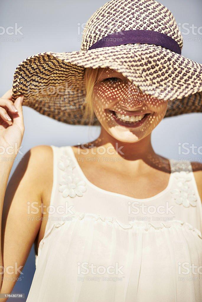 Feeling summery stock photo