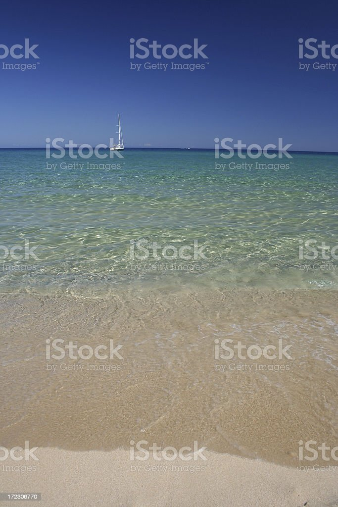 Feeling the Earth curvature royalty-free stock photo