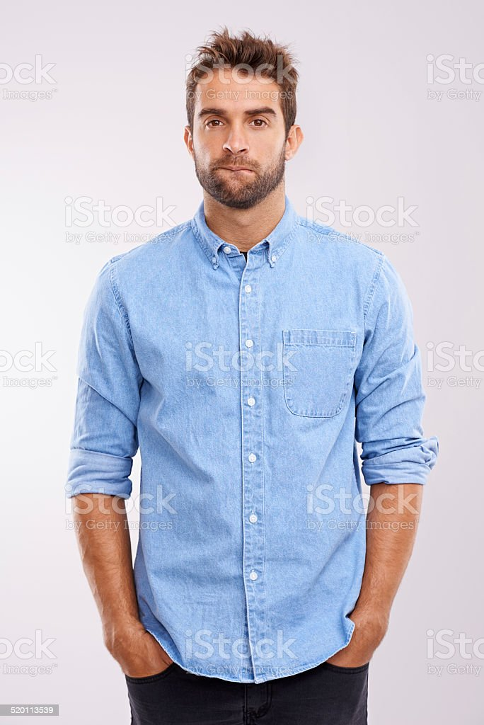 Feeling uncertain stock photo
