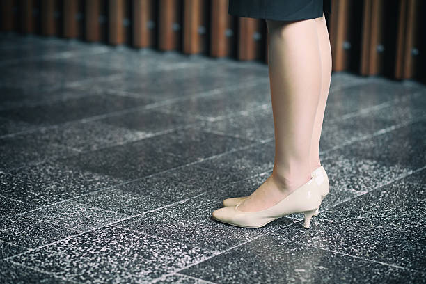 feet and legs of woman ストックフォト