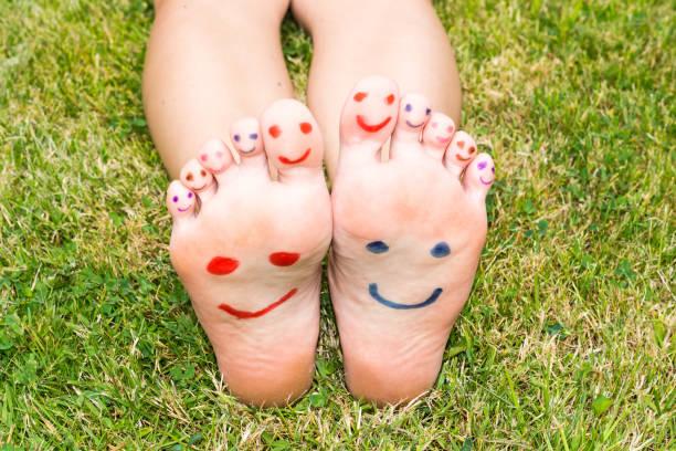 Füße wohlfühlen – Foto