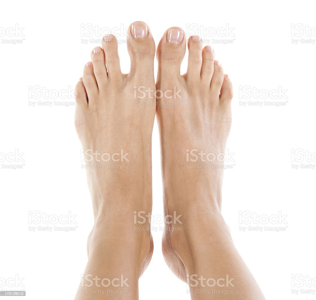 Feet from Above stock photo