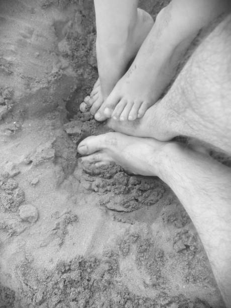 Feet in love - foto stock