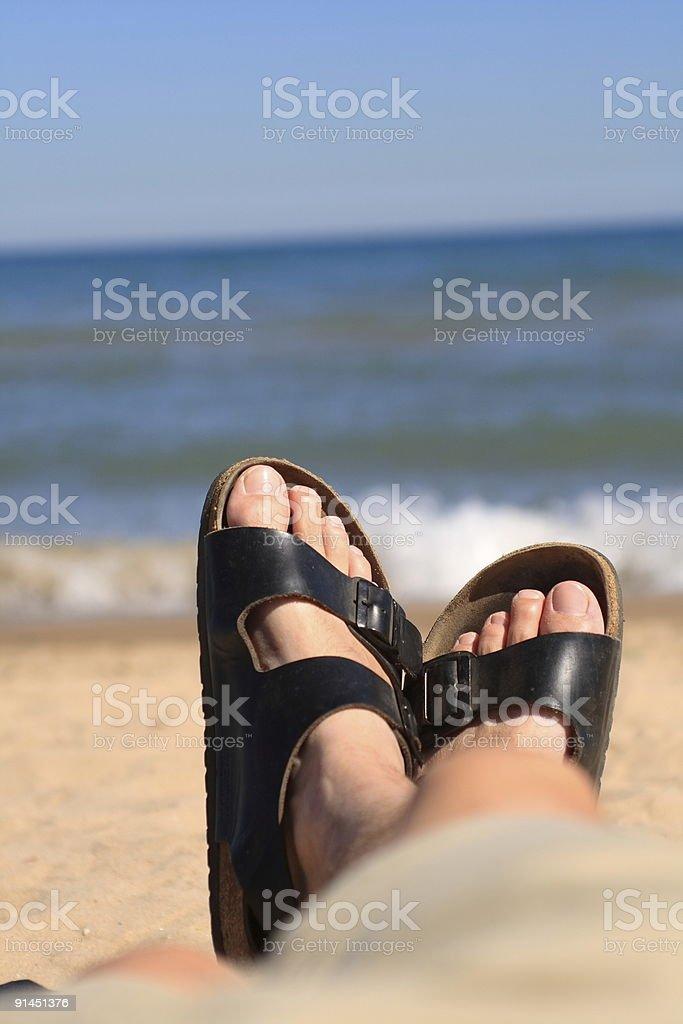 Em férias - foto de acervo
