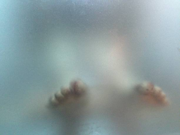 feet in the morgue stock photo