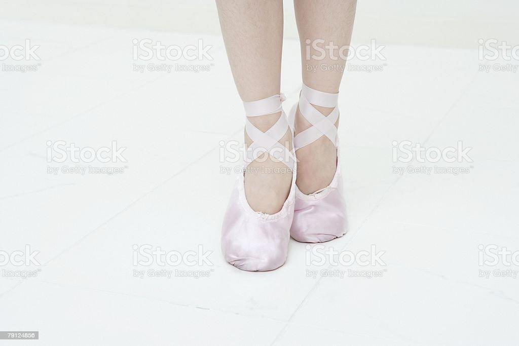 Feet of ballerina 免版稅 stock photo