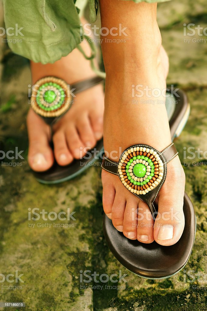 feet - Royalty-free Adolescence Stock Photo