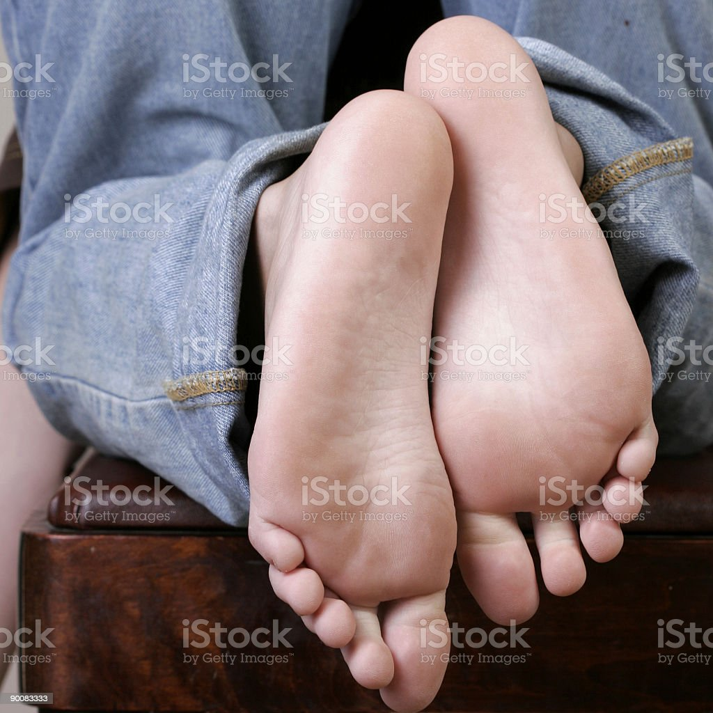 Feet stock photo