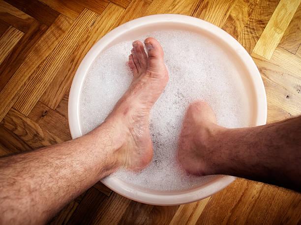 Feet spa stock photo