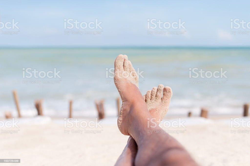 Füße im Paradies – Foto