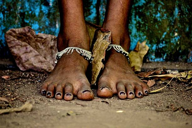 feet without shoes – Foto
