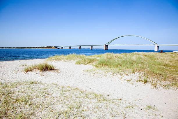 Fehmarn Sund Bridge stock photo