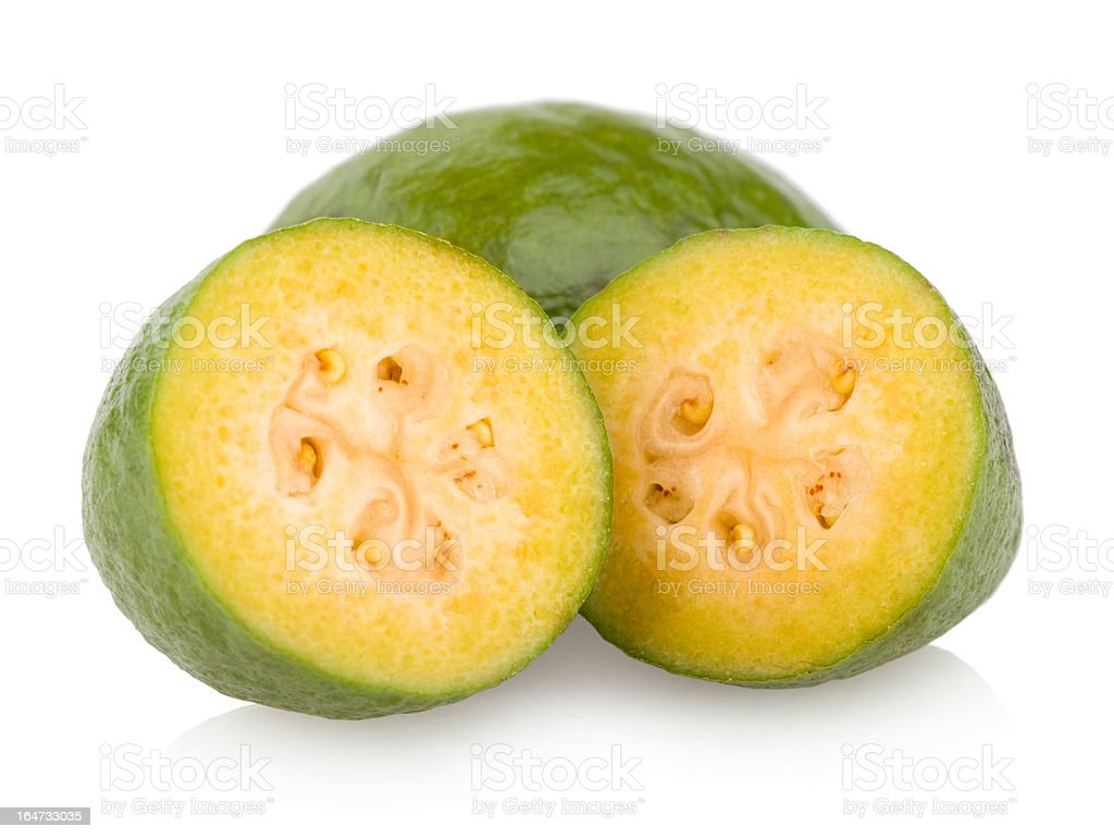 feijoa royalty-free stock photo