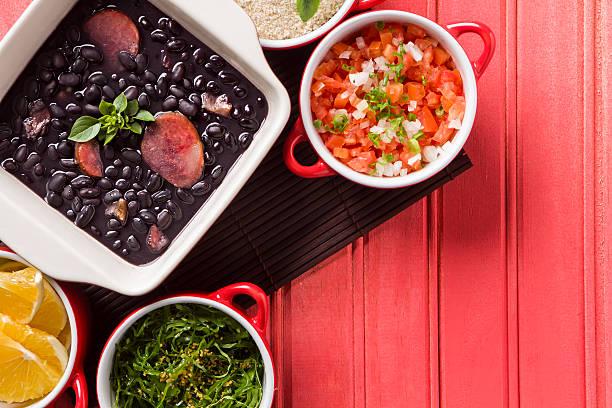 Feijoada Feijoada, the Brazilian cuisine tradition brazilian culture stock pictures, royalty-free photos & images
