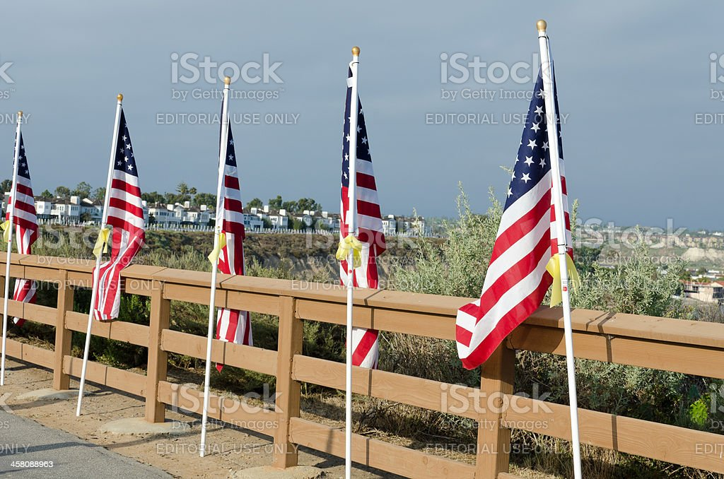 Feild of Honor royalty-free stock photo