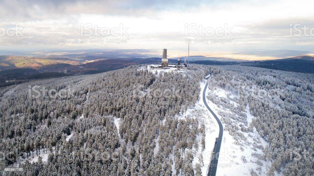 Schneehöhen Feldberg Taunus