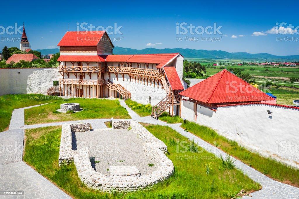 Forteresse de Feldioara, Transylvanie - Roumanie - Photo de Antique libre de droits