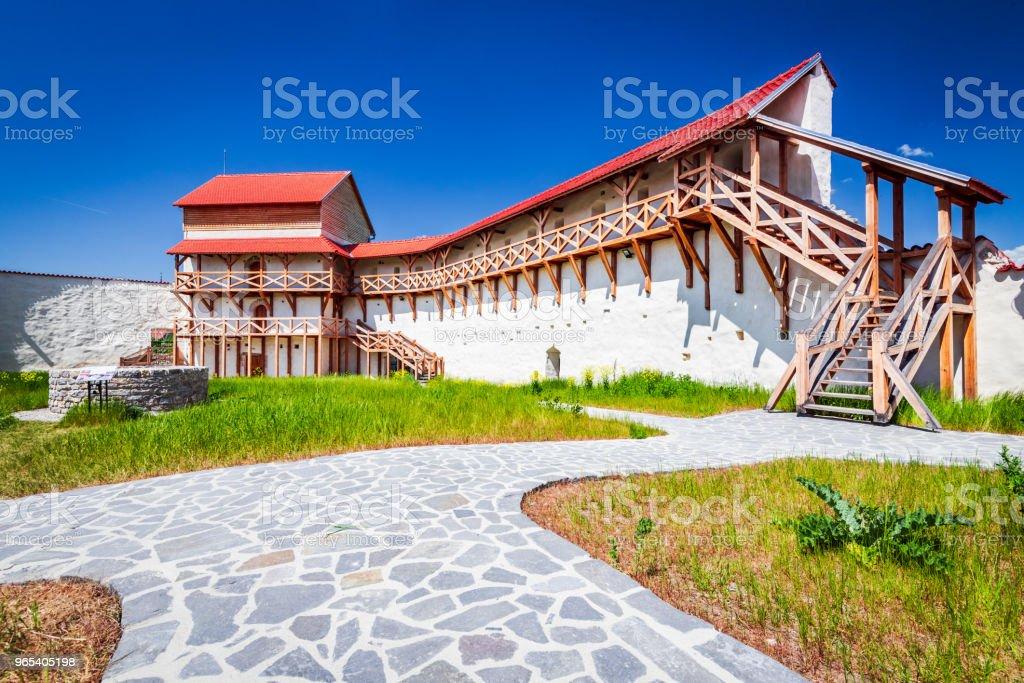 Feldioara Fortress, Transylvania - Romania royalty-free stock photo