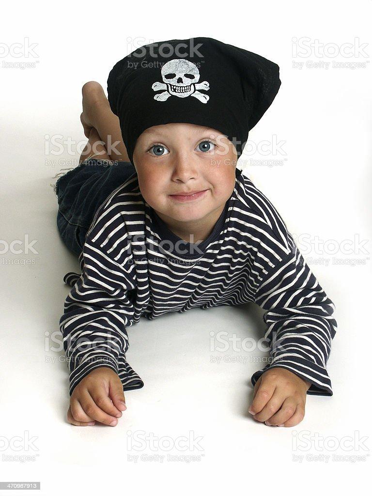 Felix the Pirate 03 stock photo