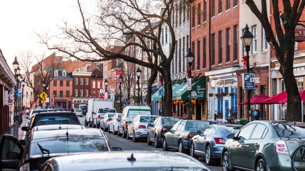 Fells Point, Baltimore, MD stock photo