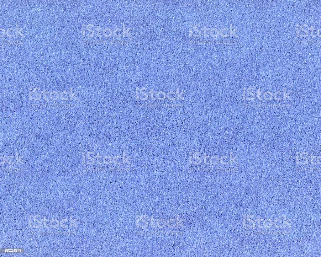 Felt — Blue royalty-free stock photo