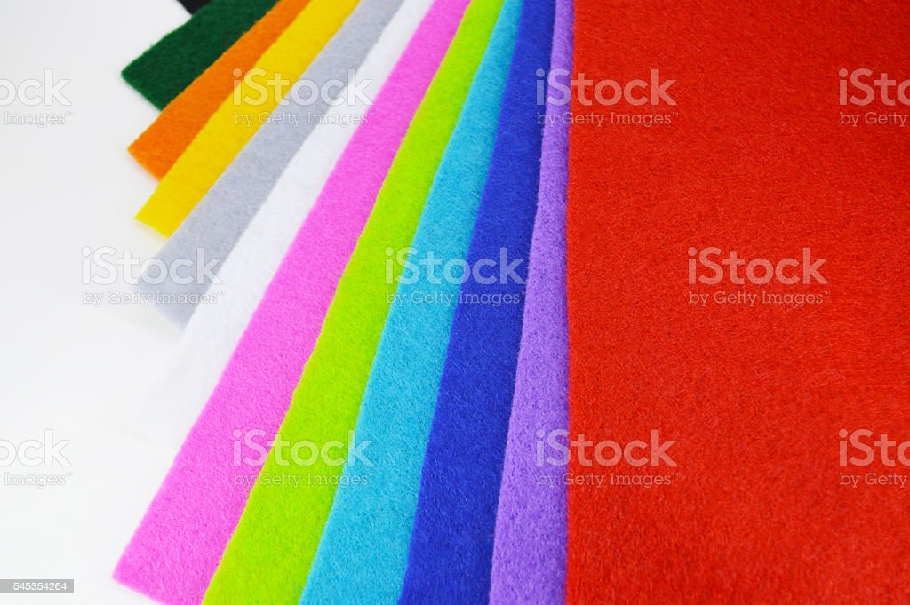 Felt cloths royalty-free stock photo