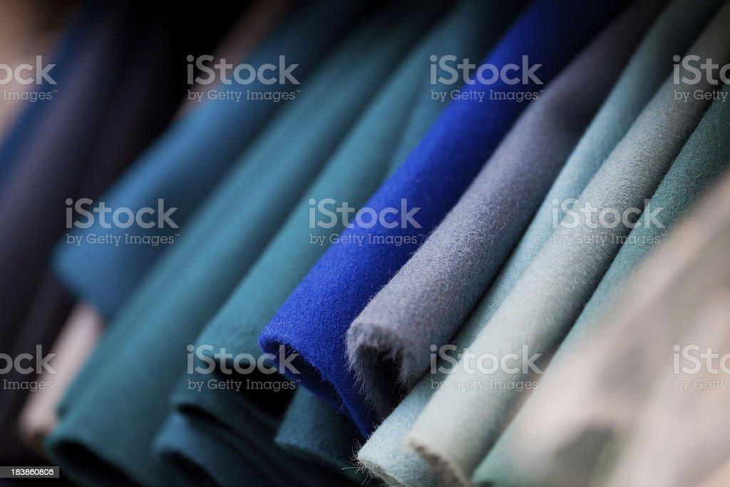 Felt Fabrics stock photo