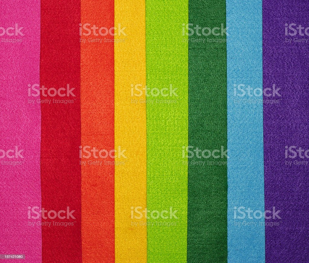 Felt in different colors royalty-free stock photo