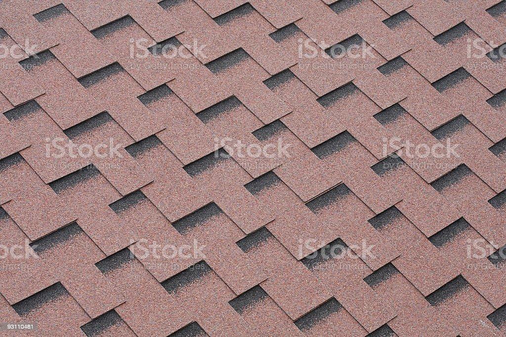 Felt roofing stock photo