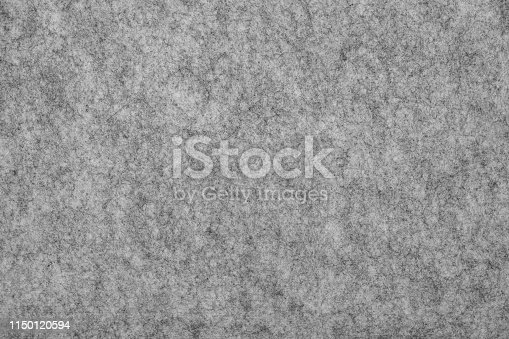 Felt Texture Background. Soft grey felt material. Surface of felted fabric texture abstract background. High resolution photo.