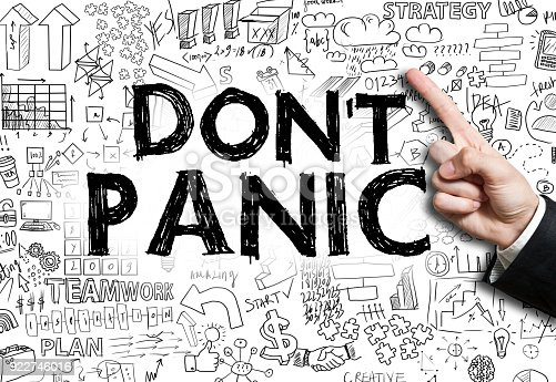 istock DON'T PANIC / Felt tip pen concept (Click for more) 922746016