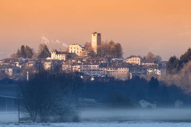 Feltre (BL) - Winter Sonnenuntergang – Foto