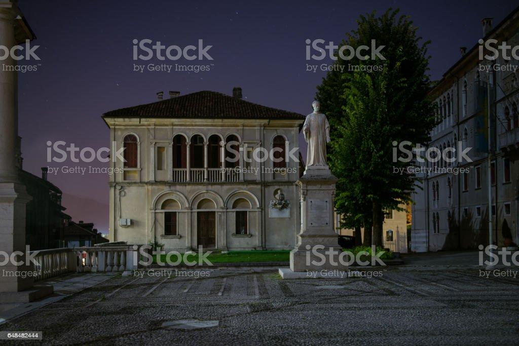 Feltre,Piazza Maggiore - foto stock