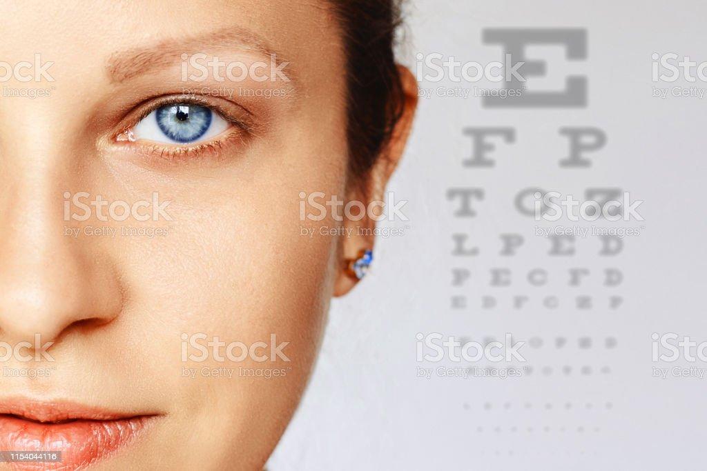 Eye health and care, eyesight, eye test, ophthalmology