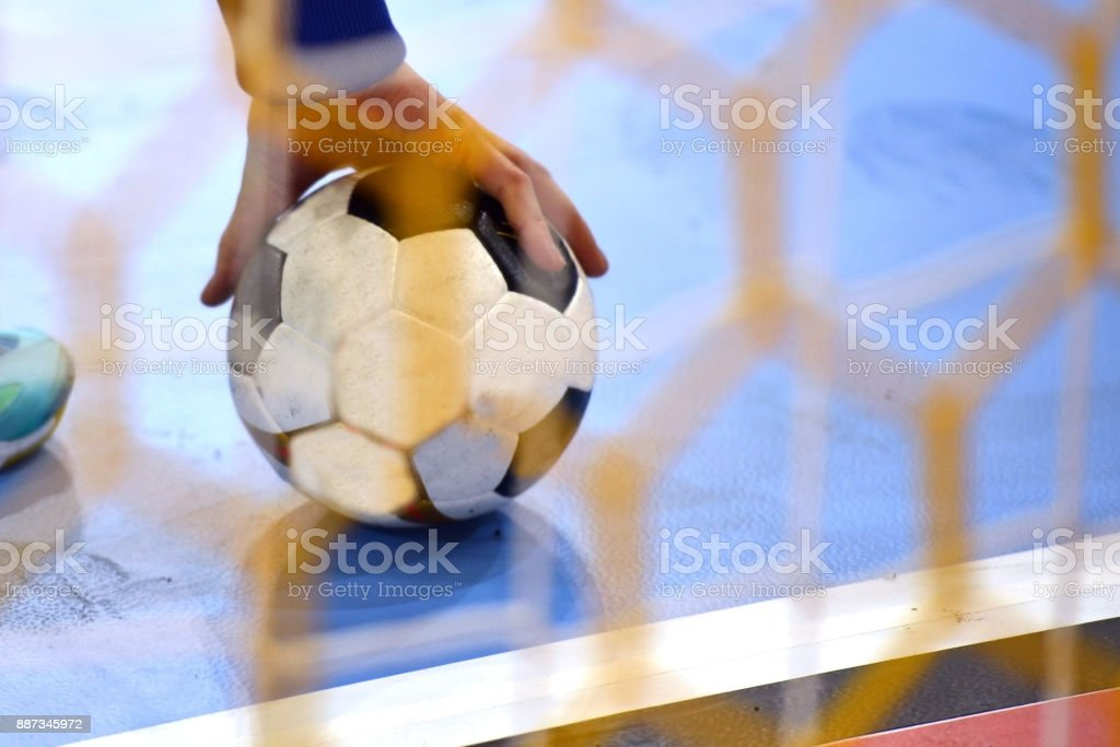 Femal Handball Player - fotografia de stock