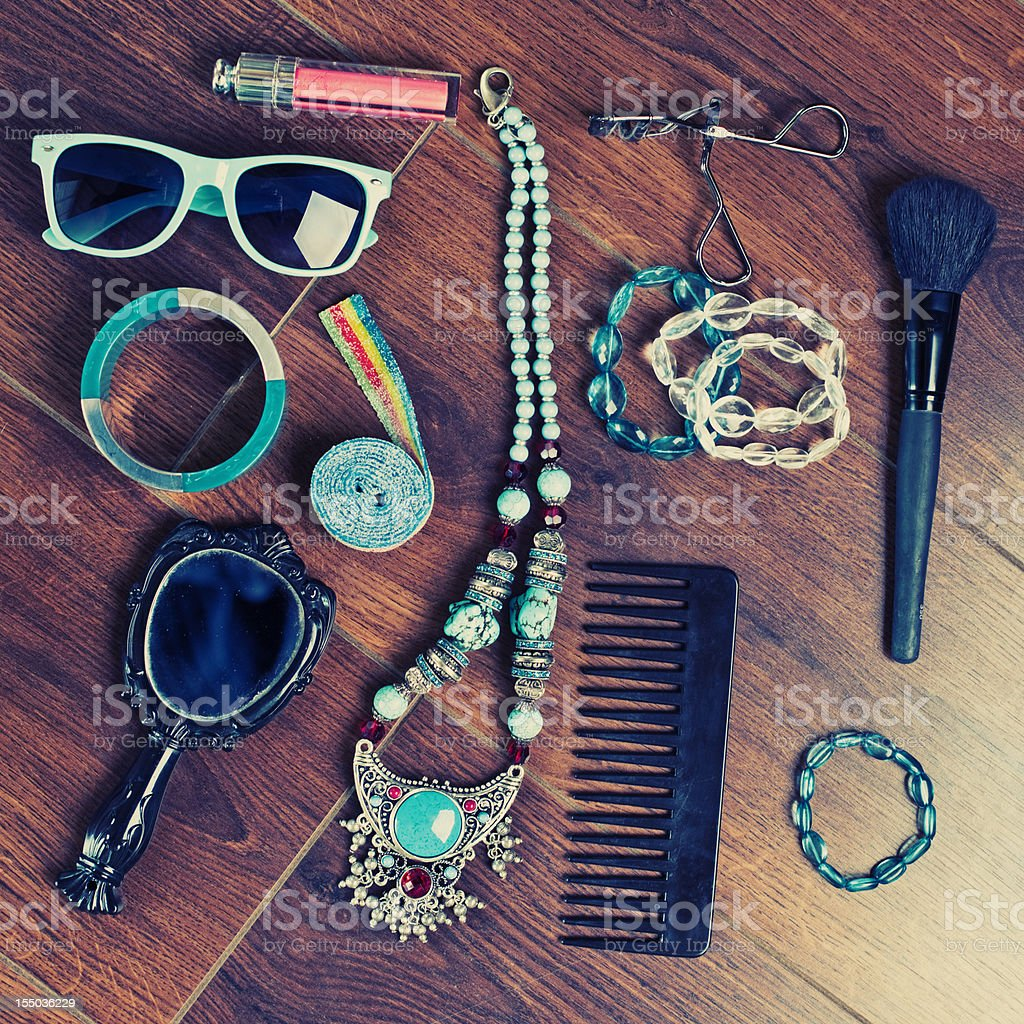 female accessories royalty-free stock photo