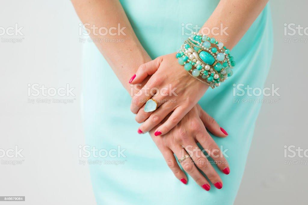 Female accessories stock photo